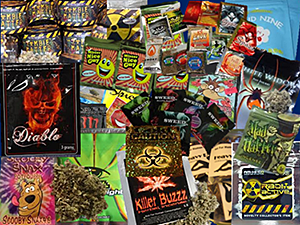 Synthetic Drug Packaging